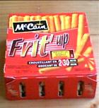Test pour vous frit 39 up de mccain deadly breakfast - Frite au micro onde ...
