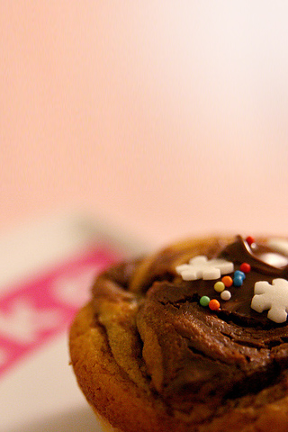 iphone wallpaper cupcake
