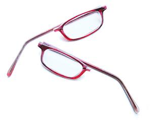 Les lunettes de la droite sont cassées