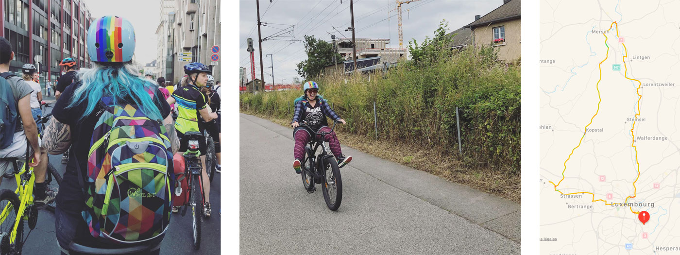 Les sorties en vélo cet été