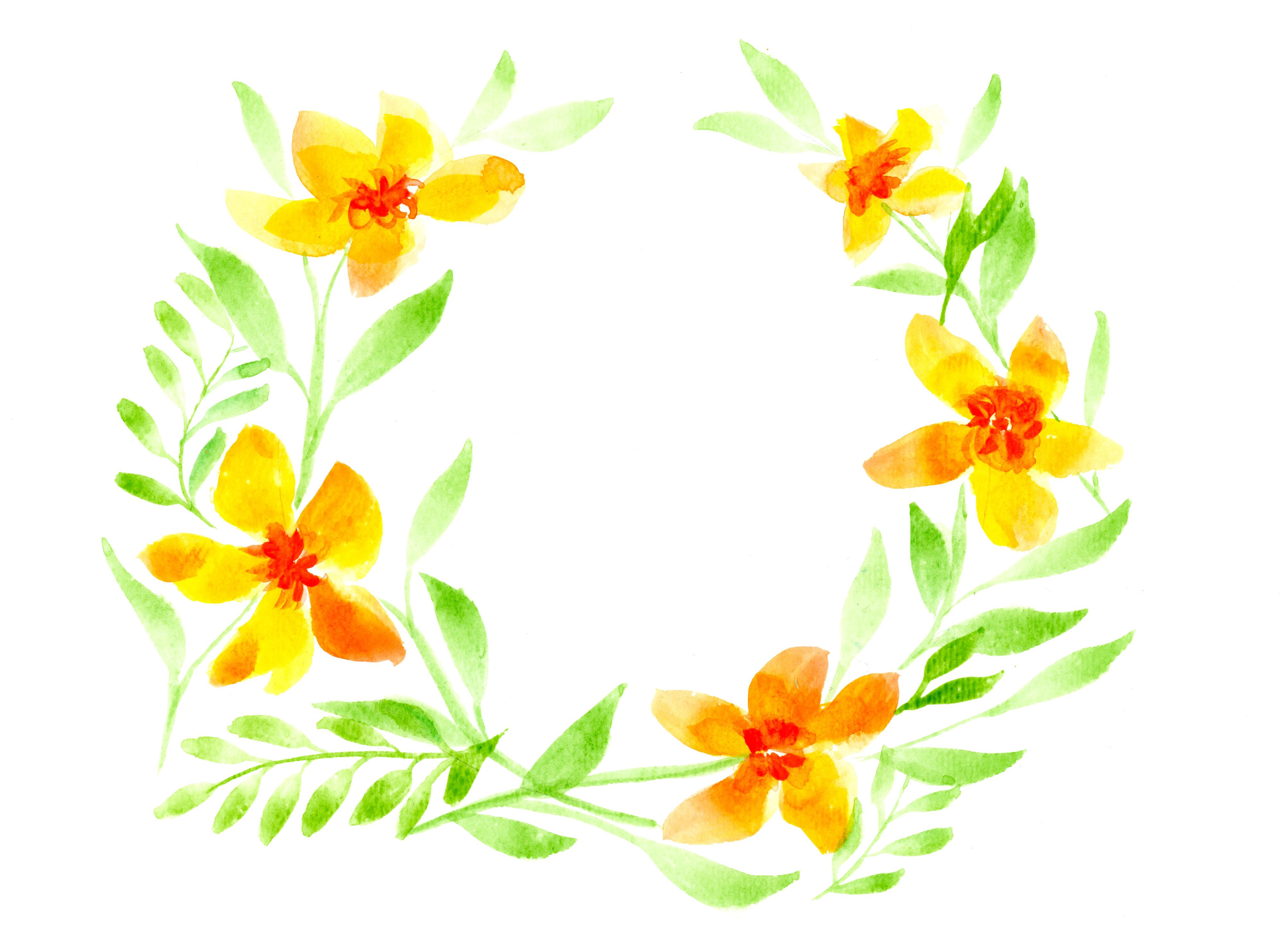Des couronnes de fleurs à l\u0027aquarelle , Deadly Breakfast